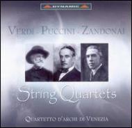 String Quartet / Crisantemi: Quartetto Di Venezia +zandonai