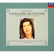 マスカーニ:歌劇《カヴァレリア・ルスティカーナ》 トゥリオ・セラフィン