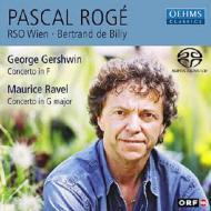 ガーシュイン:ピアノ協奏曲、ラヴェル:ピアノ協奏曲 ロジェ(p)ド・ビリー&ウィーン放送響