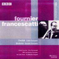 Cello Concerto / Double Concerto: Fournier, Francescatti, C.davis, Sargent /