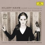 Violin Concerto: Hilary Hahn(Vn), C.davis / Lso +the Lark Ascending
