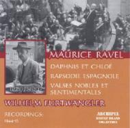 ラヴェル(1875-1937)/Daphnis Et Chloe Suit.2 Etc: Furtwangler / Bpo +rapsodie Espagnole(Vpo)