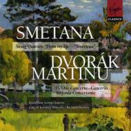 String Quartet.12 / .1: Endellion.sq +martinu: Concertos: Hickox / City Of