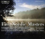 Jarvi / Gothenburg.so Sibelius, Nielsen, Svendsen, Stenhammar, Tubin