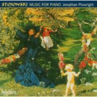 ストヨフスキ:ピアノのための音楽/ジョナサン・プロウライト(p)