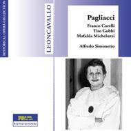 I Pagliacci: Simonetto / Milan Rai.so, F.corelli, Gobbi, Micheluzzi (1954)