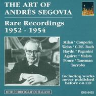 Segovia Recordings 1952-1954