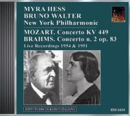 Piano Concerto.2 / .14: Hess(P), Walter / Nyp