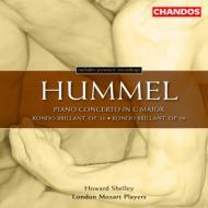 フンメル: ピアノ協奏曲ハ長調Op.34、他/ハワード・シェリー(ピアノ&指揮)、ロンドン・モーツァルト・プレイヤーズ