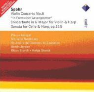 Violin Concerto.8, Concertante: Amoyal(Vn)nordmann(Hp)jordan / Lausanne.co