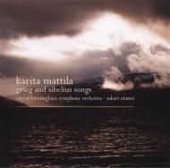 Orchestral Songs: Mattila(S), Oramo / City Of Birmingham.so