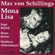Mona Lisa: Hegaer / Berlin City Opera, Borkh, Beirer, Etc +lieder