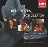ベートーヴェン:三重協奏曲、シューマン:ピアノ協奏曲 アルゲリッチ、カプソン、マイスキー、ラビノヴィチ&スイス・イタリア語放送管