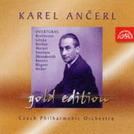 Famous Overtures: Ancerl / Czech.po