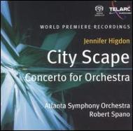 City Scape, Concerto For Orchestra: Spano / Atlanta.so