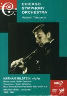Violin Concerto: Milstein(Vn), Hendl / Cso +j.s.bach