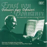 Piano Works: E.dohnanyi