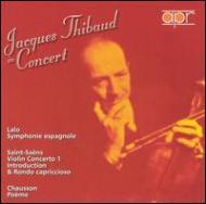 Symphonie Espagnole / Violin Concerto.1: Thibaud(Vn)(1953)