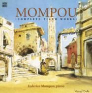 ピアノ作品全集 フェデリコ・モンポウ(4CD)