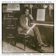 Danse Negre From African Suite, Etc: Freeman / Chicago Sinfonietta +etc