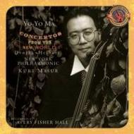 Cello Concerto / .2: Yo-yo Ma(Vc), Masur / Nyp