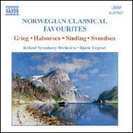 <ノルウェーのクラシック名曲集>グリーグ、ハルヴォルセン他の作品 エンゲセット/アイルランド交響楽団