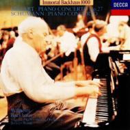 モーツァルト:ピアノ協奏曲第27番、他 バックハウス