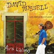D.russell Aire Latino-latin American Music For Guitar