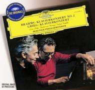 ブラームス:ピアノ協奏曲第2番、グリーグ:ピアノ協奏曲 アンダ(p)カラヤン、クーベリック、ベルリン・フィル