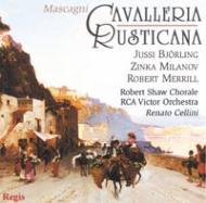 Cavalleria Rusticana: Cellini / Rca Victor.o, Bjorling, Milanov, Merrill