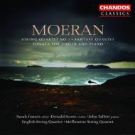 アーネスト・ジョン・モーラン:弦楽四重奏曲第1番イ短調 / メルボルン弦楽四重奏団、スコッツ(ヴァイオリン)他