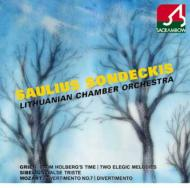 K.136、他 ソンデツキス(指揮)リトアニア室内管弦楽団