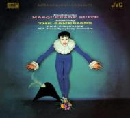 ハチャトゥリアン:『仮面舞踏会』組曲、カバレフスキー:『道化師』 コンドラシン&RCAビクター響(XRCD)