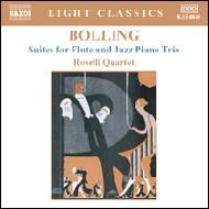 フルートとジャズ・ピアノ・トリオのための組曲第1番/第2番 ロゼッリ・クワルテット
