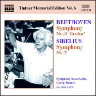 ベートーヴェン:交響曲第3番『英雄』、シベリウス:交響曲第7番 ティントナー指揮ノヴァ・スコシア響