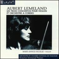 Violin Concertos, Concerto Funebre: M-a.nicolas(Vn)e.plasson / Toulouse.co