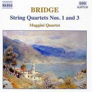 弦楽四重奏曲第1番/第3番 マッジーニ四重奏団