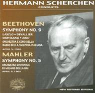 ベートーヴェン:交響曲第9番 マーラー:交響曲第5番 シェルヘン 1965,62年(2CD)