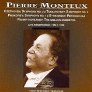 ベートーヴェン:交響曲第2番 チャイコフスキー:交響曲第5番 モントゥー&フランス国立管弦楽団 1956-58年(2CD)