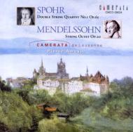 シュポア&メンデルスゾーン:弦楽八重奏曲集/カメラータ・デ・ローザンヌ