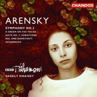 アントン・アレンスキー:交響曲第2番Op.22 / ワシーリー・シナイスキー(指揮)、BBCフィルハーモニック
