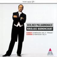 シューベルト:交響曲第4番、シューマン:交響曲第4番 アーノンクール&ベルリン・フィル