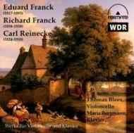 Cello Sonata Op.6: Blees(Vc)bergmann(P)+r.franck, Reinecke: Cello Sonata