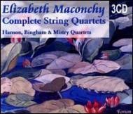 String Quartet: Hanson.sq, Bingham, Sq, Mistry.sq