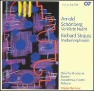 Verklarte Nacht / Metamorphosen: Bernius / Streicherakademie Bozen