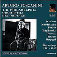 シューベルト:『グレイト』、チャイコフスキー:『悲愴』、他 トスカニーニ&フィラデルフィア管弦楽団(3CD)