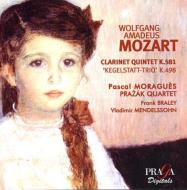 Clarinet Quintet, Kegelstatt-trio: Moragues Prazak Q V.mendelssohn