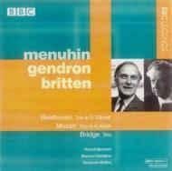 ベートーヴェン:ピアノ三重奏曲第5番『幽霊』、モーツァルト:ピアノ三重奏曲ト長調K.564、他 メニューイン、ジャンドロン、ブリテン(ステレオ)