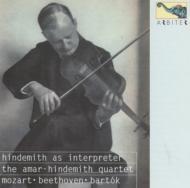 弦楽四重奏曲.11 / .16 Amar-hindemith.sq +bartok Quartet.2