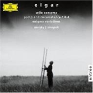 チェロ協奏曲、エニグマ変奏曲 マイスキー、シノーポリ&フィルハーモニア管弦楽団